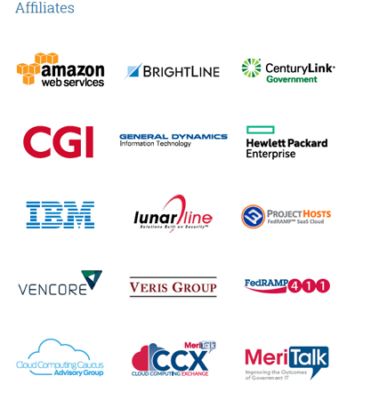 FedRAMP Fast Forward Industry Advisory Group affiliates.