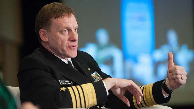 NSA Director Admiral Michael Rogers. (Photo: Intelligence and National Security Alliance, INSA)