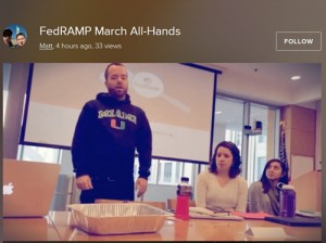 The March FedRAMP All-Hands Meeting.