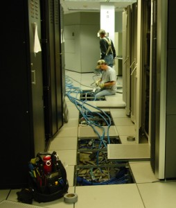 U.S. Air Force data center undergoes repairs. (Photo: DOD)