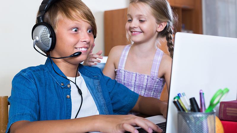 online gaming kids