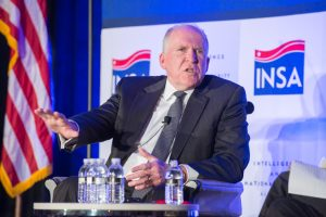 CIA Director John O. Brennan speaks to INSA members July 19, 2016.