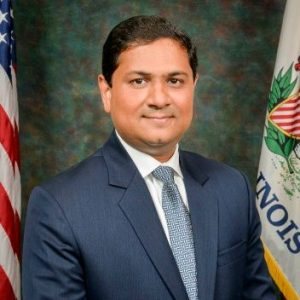 Hardik Bhatt, Illinois' Secretary Designate, Department of Innovation & Technology, and State CIO. (Photo: LinkedIn)