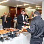 Attendees were provided with a delicious breakfast and coffee to kick-start their morning.
