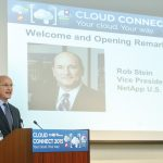Rob Stein, Vice President of U.S. Public Sector at NetApp, delivered the welcome and opening remarks.