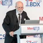 Vint Cerf, Vice President and Chief Internet Evangelist at Google, gave the afternoon keynote at MeriTalk's CSX Brainstorm.