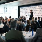 The room is packed full at MeriTalk's fifth annual Cloud Computing Brainstorm held at the Newseum on June 15, 2016.