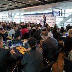 Steve O'Keeffe, MeriTalk founder, provides opening remarks.