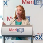 Caroline Boyd, Director of Government Relations at MeriTalk introduces the next panel discussion.
