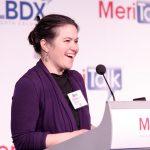 Tricia Davis-Muffett, Senior Leader, Global Public Sector Marketing, Amazon Web Services, provides the morning Keynote introduction