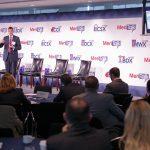 Jack Wilmer, Infrastructure Development Executive, DISA, provides the morning keynote address