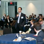 Attendees gain further insight from speakers during the panel Q&A