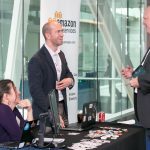 Attendees and exhibitors form valuable connections during networking breaks