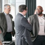 Attendees enjoy networking with their government and industry colleagues