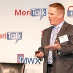 John McDonald, Federal Sales Director, Virtual Instruments, provides an introduction to the afternoon keynote address