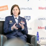 Major General Sarah E. Zabel, Vice Director, Defense Information Systems Agency, speaks on CSIP and CNAP: Driving Next-Gen Cyber Strategies for Agencies at MeriTalk's Palo Alto Networks Federal Forum.