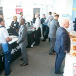 Attendees enjoyed networking with our sponsors.