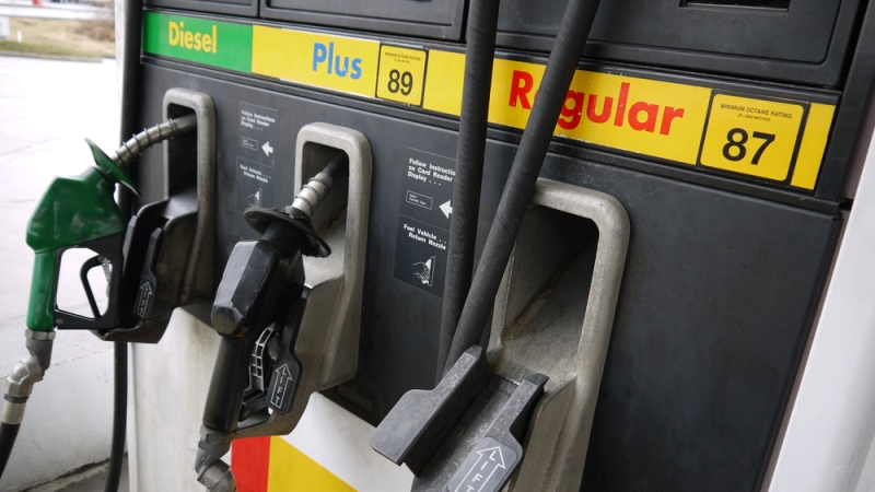 Gas prices continue sliding down